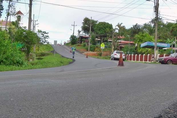 Demarcación obligará a cierres en ruta Dominical-Pérez Zeledón