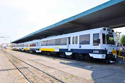 Tren a Alajuela centro se habilitaría esta tarde