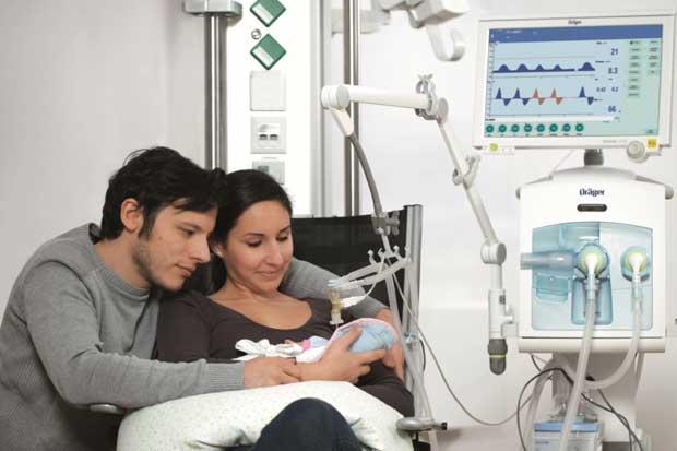 Hospital de las Mujeres cuenta con nuevo ventilador pulmonar para neonatos