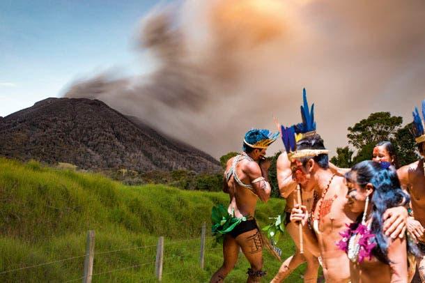 Leyendas volcánicas