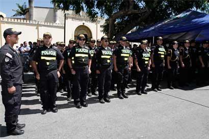 Dictaminado texto para creación de la Academia Nacional de Policía