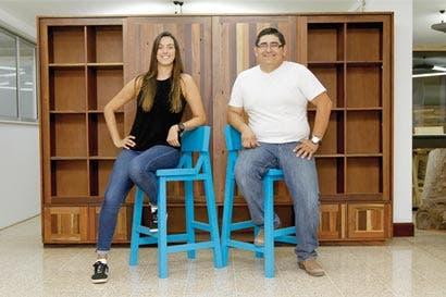 Chimpa, una visión ecológica de fabricar muebles