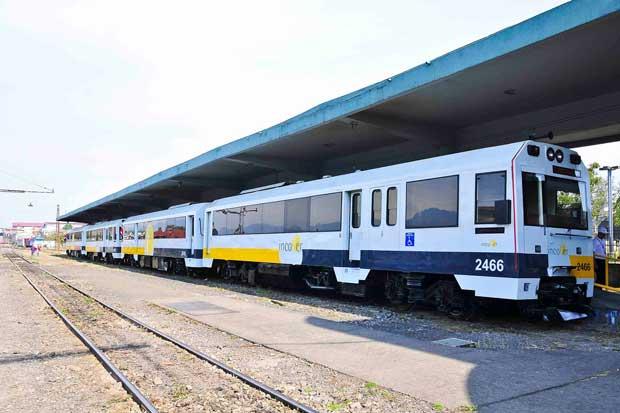 Estos son los servicios del tren suspendidos para esta tarde