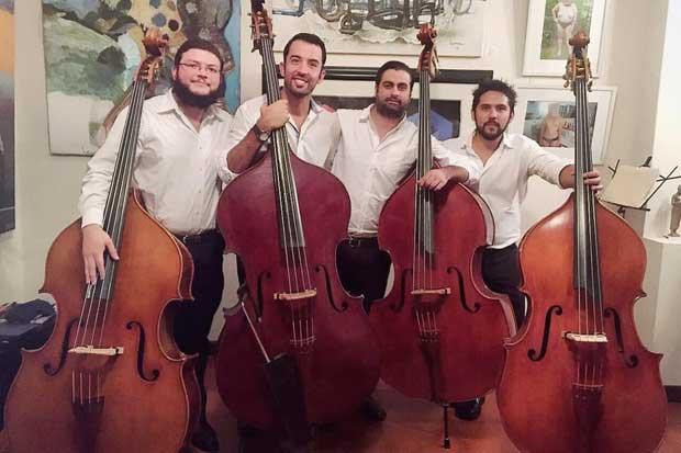Cuarteto Bajo Zero debuta en el Teatro Nacional