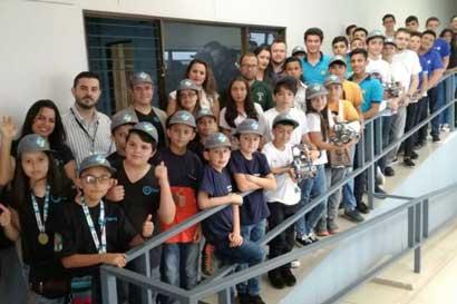 15 equipos representarán a Costa Rica en Olimpiada Mundial de Robótica