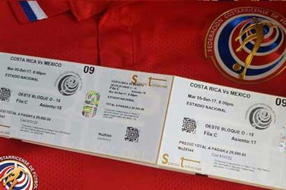 Fedefútbol reforzará control en partido contra México ante posibles entradas falsas
