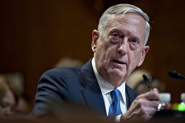"""Secretario de Defensa: Quien amenace a EE.UU. """"recibirá respuesta militar masiva"""""""