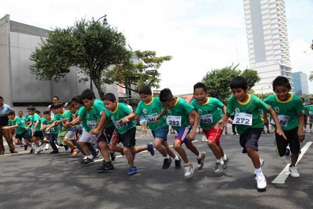 Evento en San José invita a niños a correr