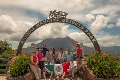 Agentes de turismo mexicanos conocieron Costa Rica para atraer visitantes