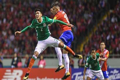 Boleto a Rusia se pospone con empate entre Costa Rica y México