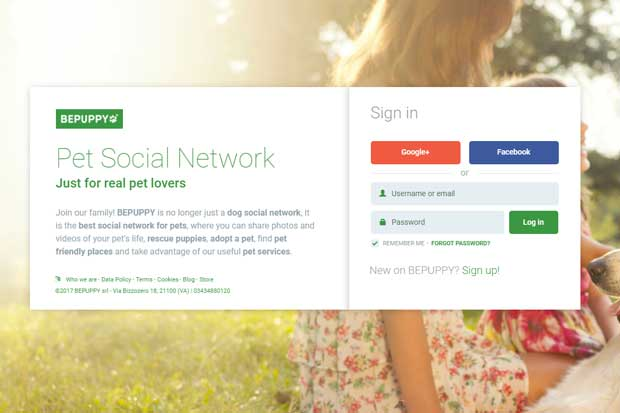 Red social BePuppy permitirá crear perfiles de mascotas