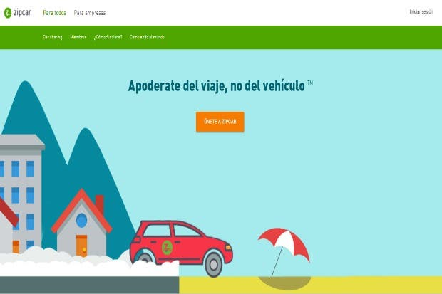 App Zipcar permitirá rentar carros en Costa Rica