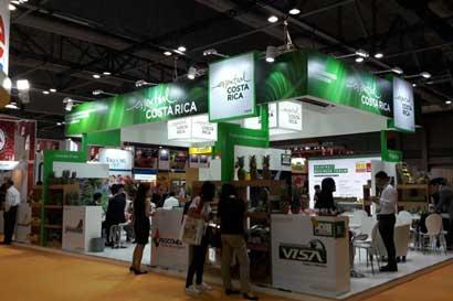 Costa Rica busca compradores a productos agrícolas en China
