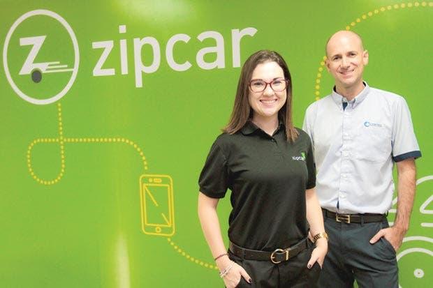 App Zipcar trae alquiler de carros por horas