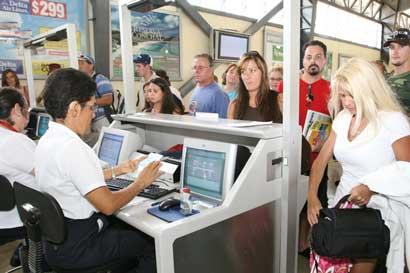 Vuelos desde el aeropuerto Daniel Oduber hacia Miami están cancelados