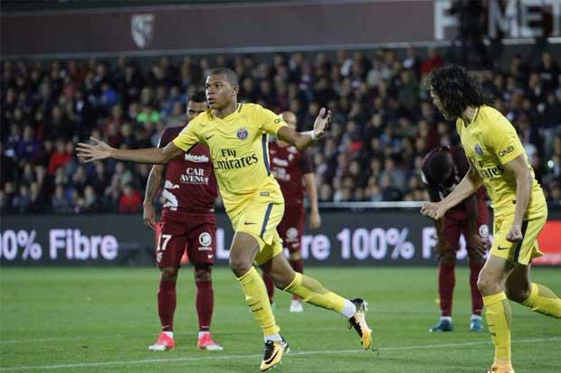 Mbappé debuta con gol en el PSG