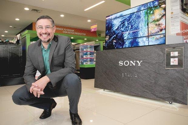 Sony presentó nueva pantalla con tecnología 4K