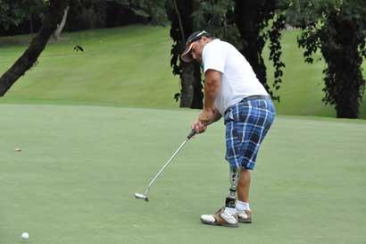 Costarricense participará en el Campeonato Mundial de Amputados de golf