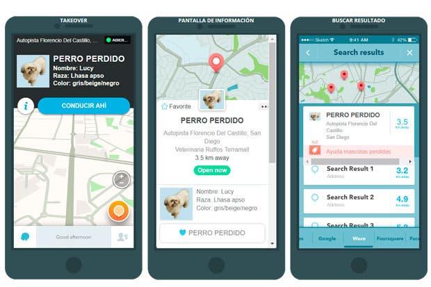 Campaña ayuda a encontrar perros perdidos mediante Waze