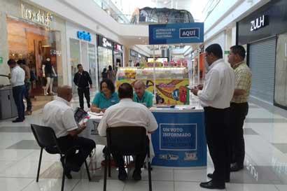TSE habilitará solicitud de cédulas en centros comerciales
