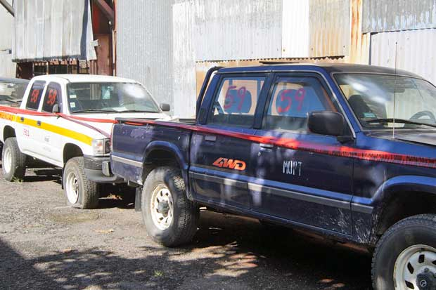 """MOPT rematará chatarra y vehículos """"reparables"""""""