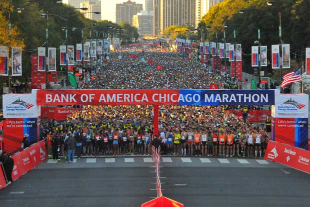 Cifra récord de ticos correrá la Maratón de Chicago