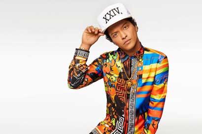 SD Concerts confirma concierto de Bruno Mars en Costa Rica