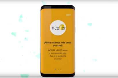 Incofer lanzará su app la próxima semana