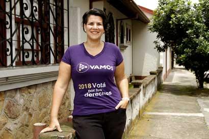 """Margarita Salas: """"Los asuntos LGBTI no son un tema más, son nuestras vidas"""""""