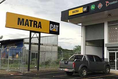 Matra reconstruirá equipos Caterpillar