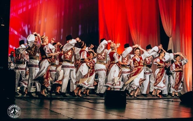 Ensamble folclórico de Rumania se presentará en el Centro de las Artes
