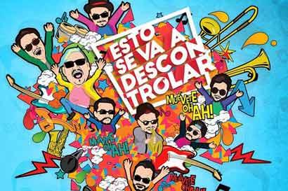 Banda nacional Los Ajenos participó en tributo a Los Rabanes