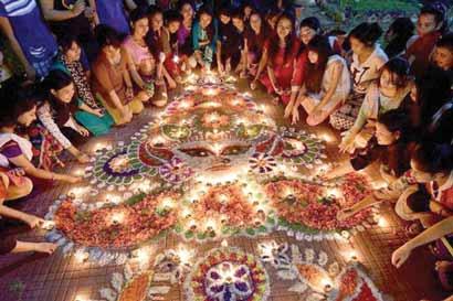 Tradicional fiesta de la India se celebrará en el país