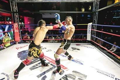 Velada de combates ofrecerá muay thai, boxeo y jiu jitsu