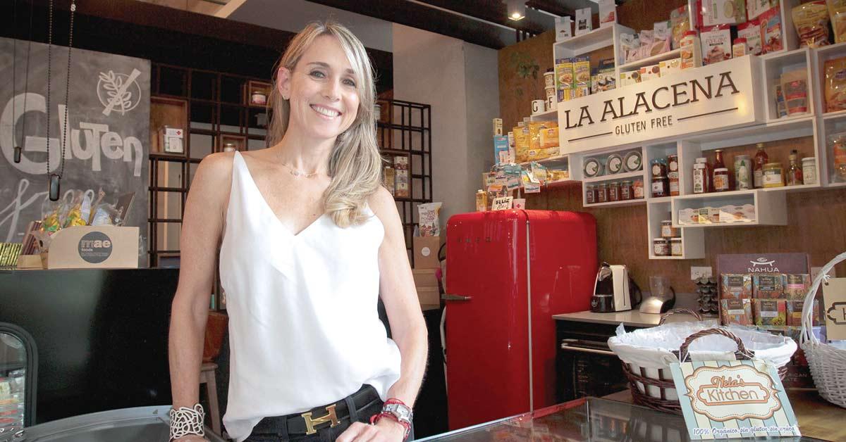 Emprendedora sacó ventaja de enfermedad para crear negocio