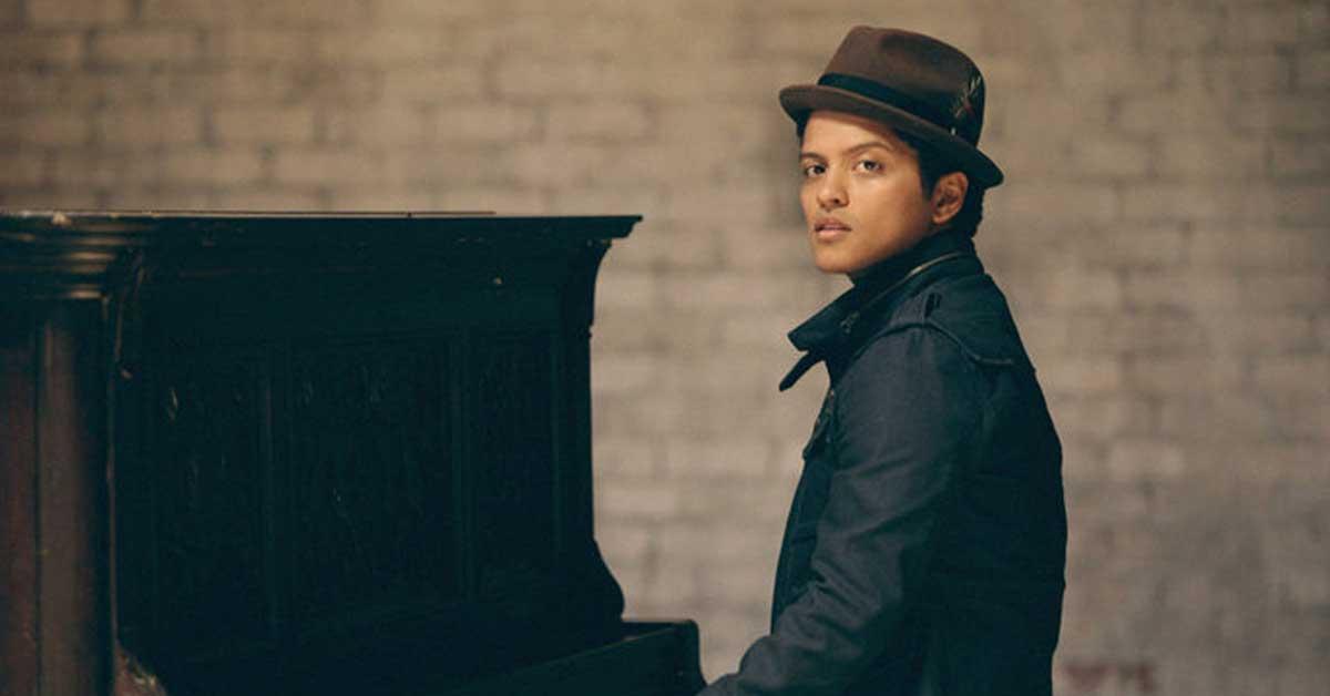 Concierto de Bruno Mars será en el Estadio Nacional