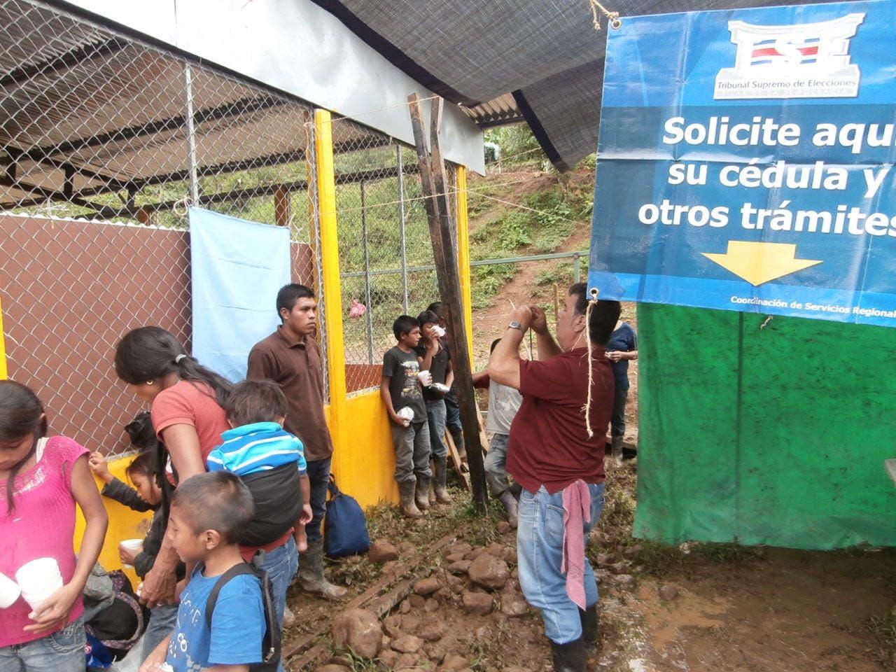 Servicios del TSE llegarán hasta las zonas indígenas