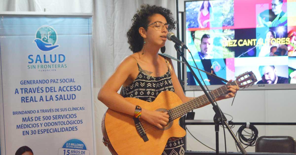 Berenice Jiménez representará a Costa Rica en Concurso de Cantautores