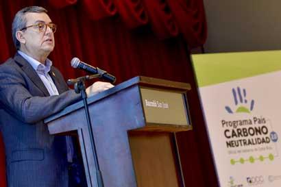 Costa Rica cuenta con nuevo programa Carbono Neutralidad