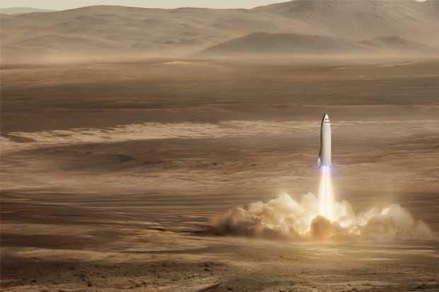 El plan de Elon Musk para colonizar Marte