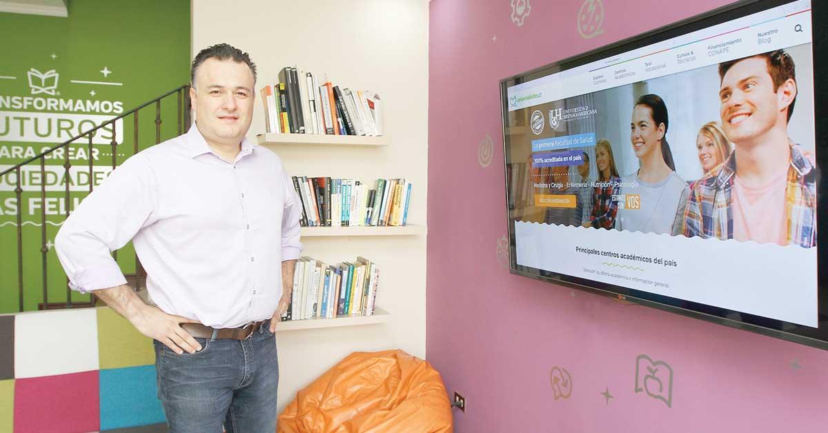 Futuros bachilleres se entrenan con apps e Internet