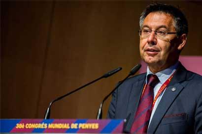 FC Barcelona se suma a paro independentista en Cataluña