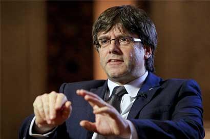 """Presidente de Cataluña asegura que declararán independencia """"en cuestión de días"""""""