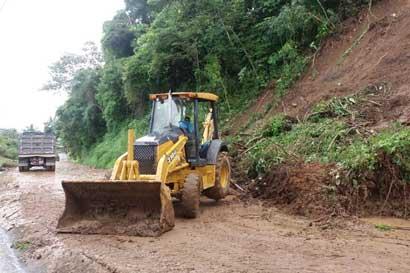1.200 incidentes por lluvias son insuficientes para declarar emergencia nacional