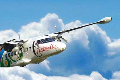 Nature Air suspende vuelos programados para hoy