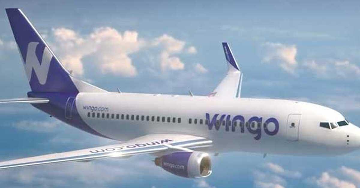 Wingo cancela su ruta San José-Panamá este mes