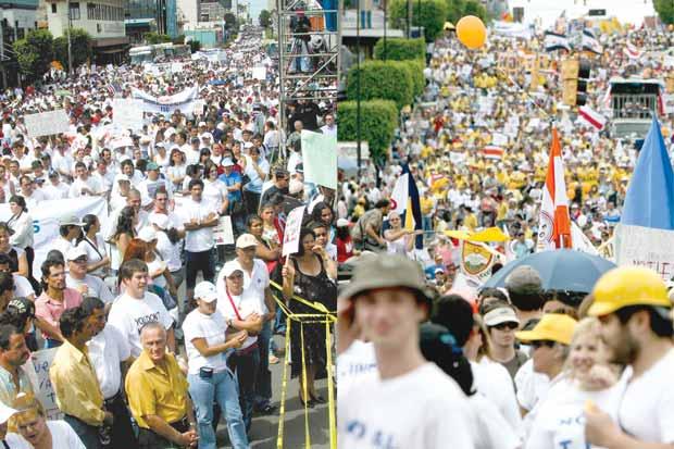 Diez años después, el Cafta genera divisiones
