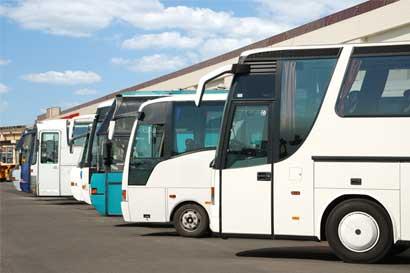 20 empresas autobuseras suspendieron sus servicios
