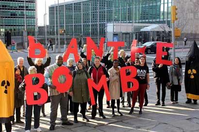 Iniciativa contra el desarme nuclear recibe Premio Nobel de la Paz