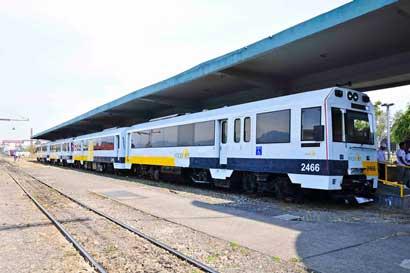 Servicio de tren se reanudaría en la tarde